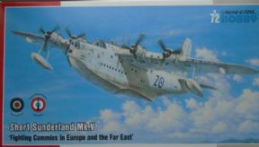 SH72162  1/72 Short Sunderland Mk.V flying boat